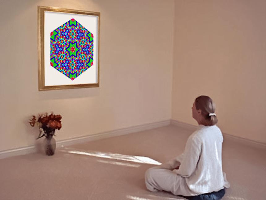 Meditatie cu mandala personala a Mamei Pamant